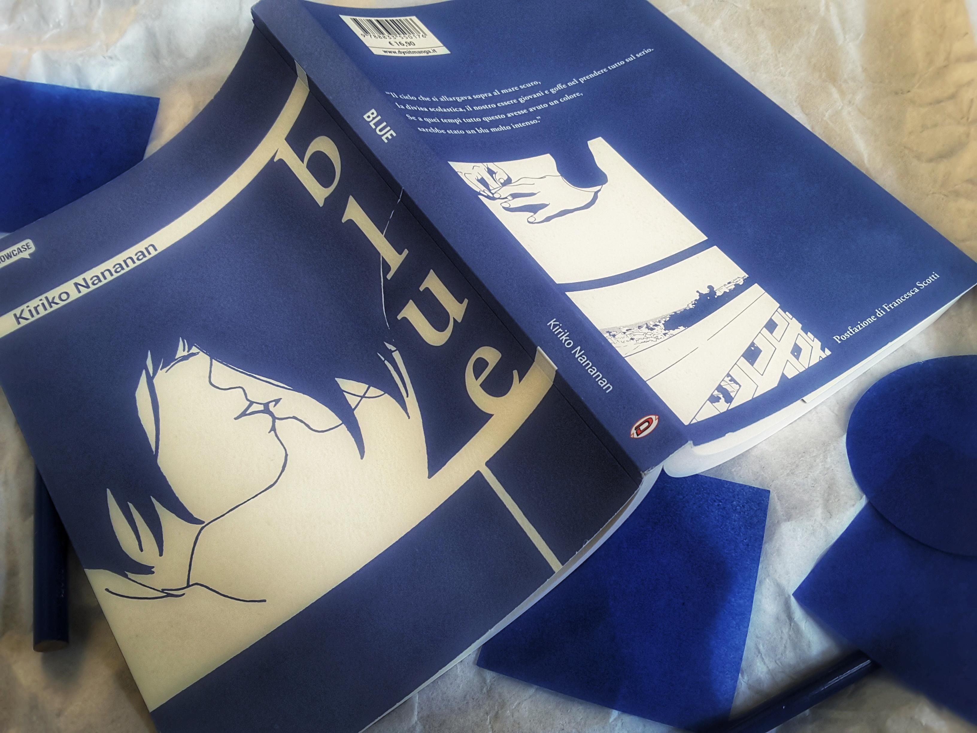"""È uscito Blue, """"nouvelle manga"""" di Kiriko Nananan con la postfazione di Francesca Scotti"""