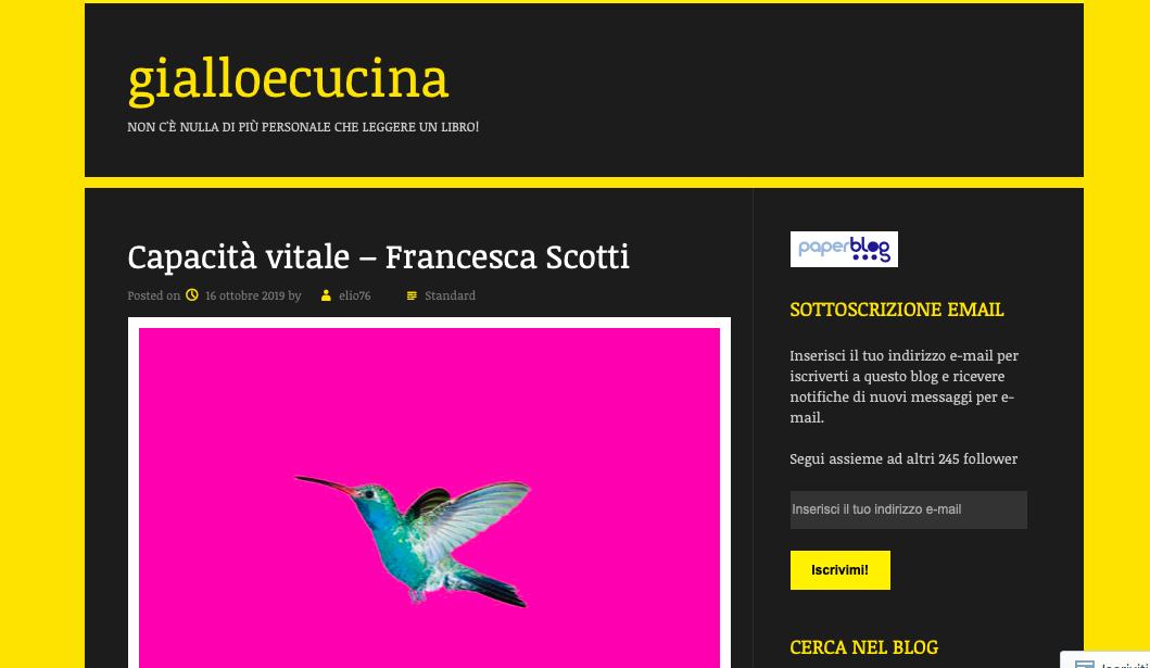 Capacità vitale _gialloecucina