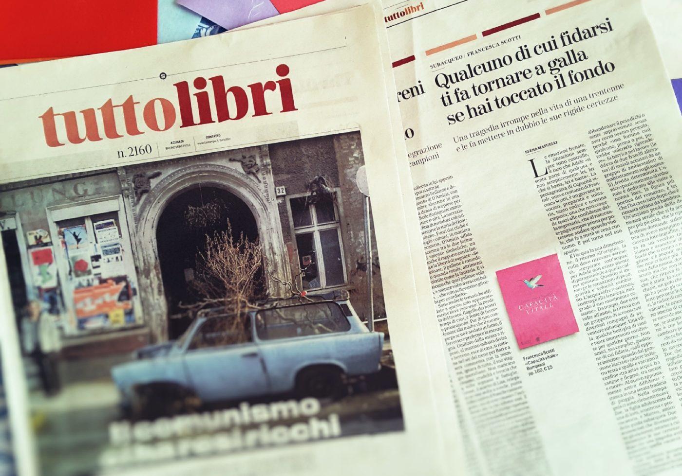 Capacità vitale _TuttoLibri _La Stampa