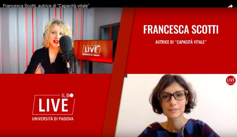 Videointervista a Francesca Scotti _Il Bo Live _Valentina Barengo