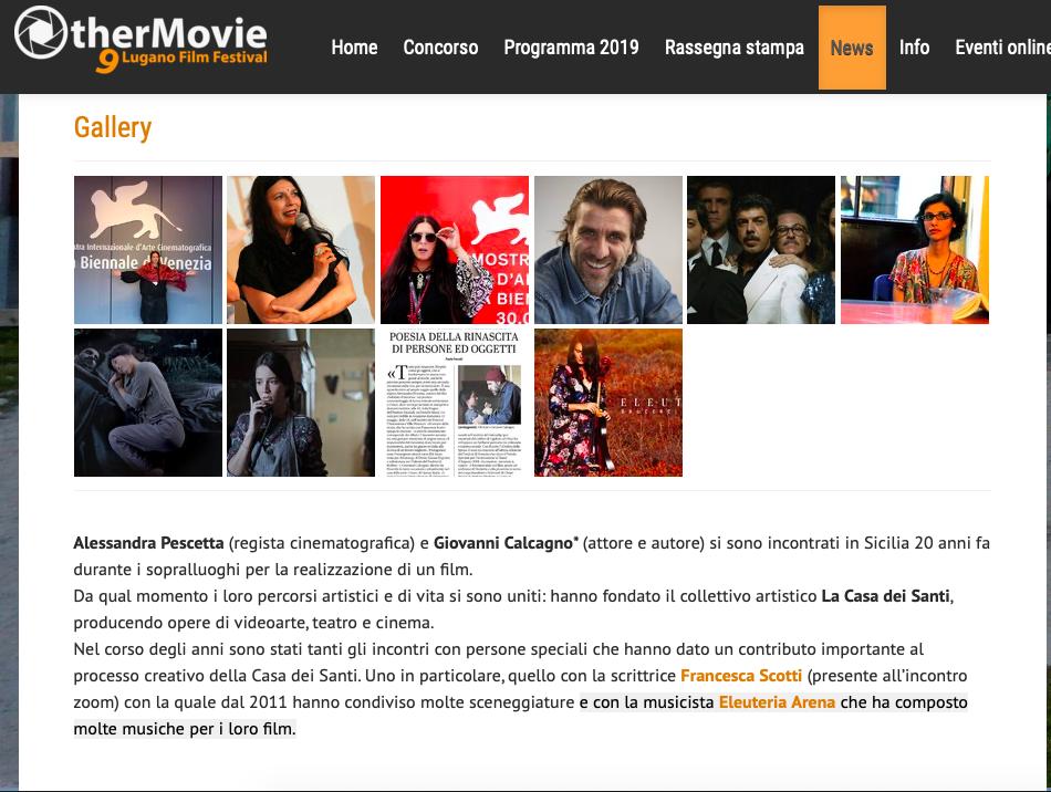 Other Movie Lugano Film Festival