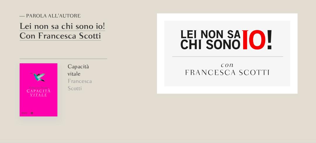 Francesca Scotti _Salotto Bompiani